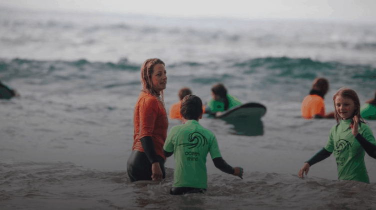 Healing wounds and boosting mental health with surfing